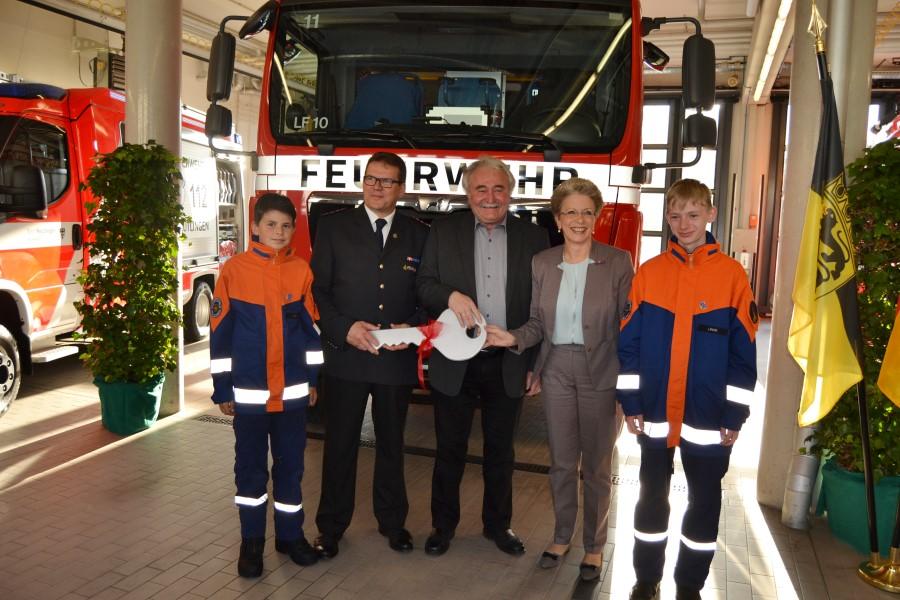 LF 10 für die Abteilung Freiwillige Feuerwehr Sickenhausen