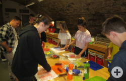 Die Druckwerkstatt im Kunstmuseum Spendhaus