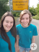 Ellie und Katrina: Praktikum in der Kinderspielstadt Burzelbach
