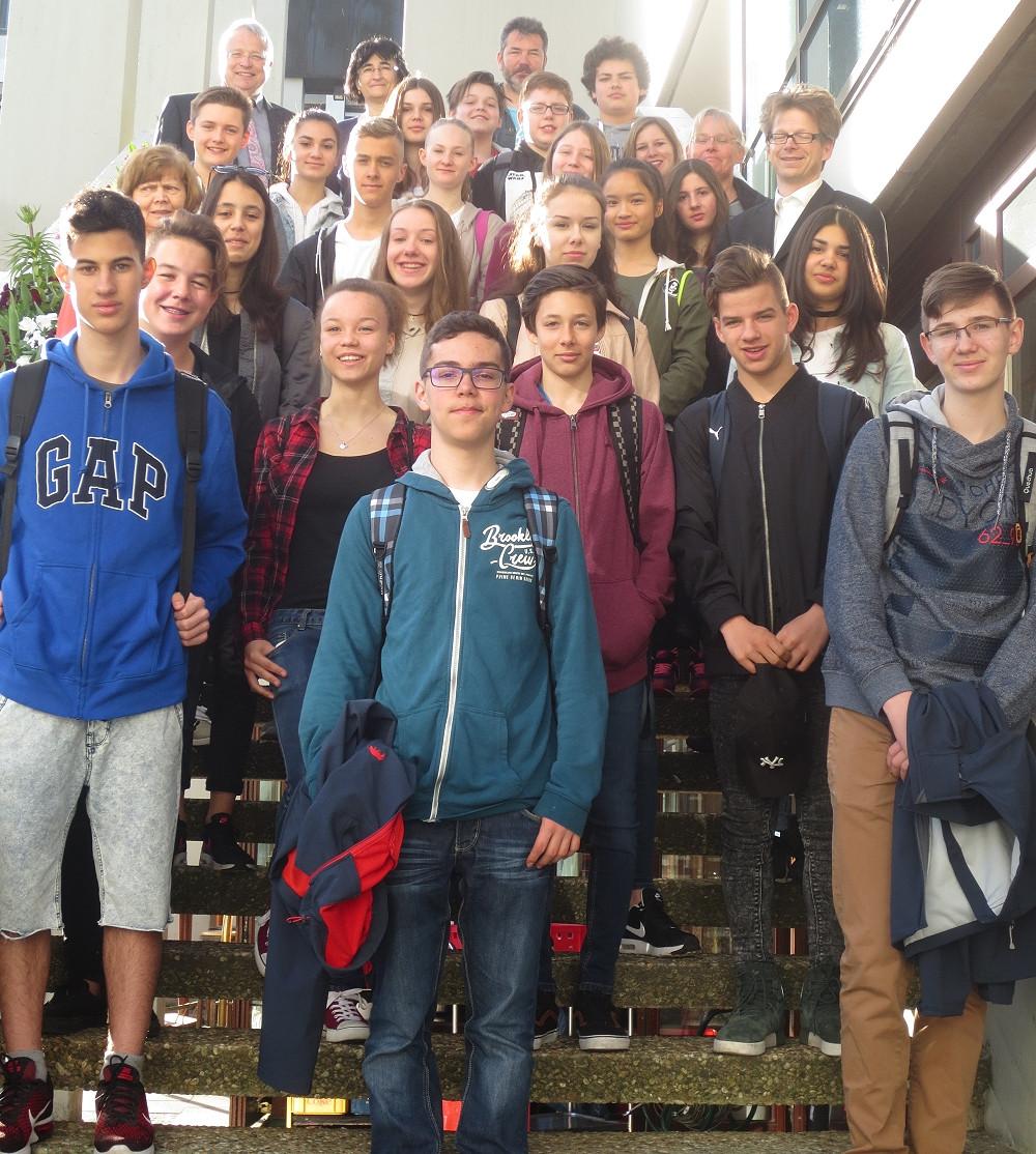 Szolnoker Schüler zu Gast bei der Minna-Specht-Gemeinschaftsschule in Reutlingen
