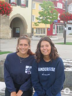 Laurine und Maelle aus Roanne