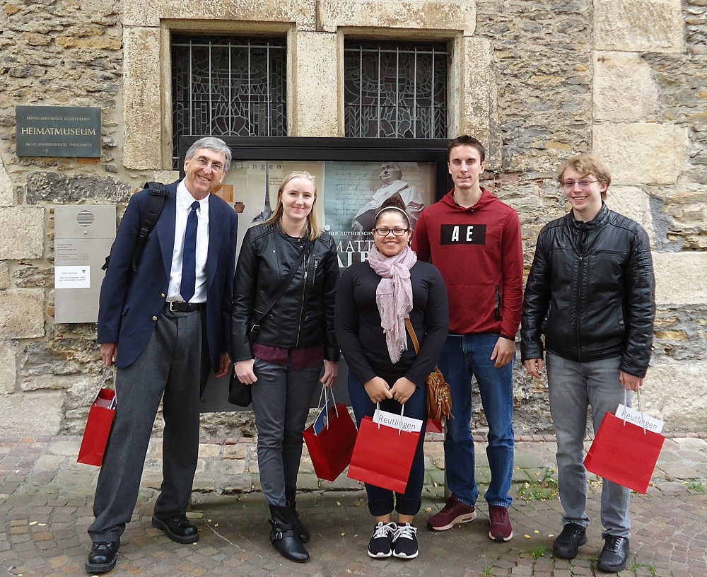 Führung im Heimatmuseum für Studenten der Valparaiso University
