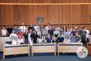 Schülerinnen und Schüler aus der Partnerstadt Warschau zu Gast in Reutlingen