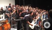 Deutsch-französisches Konzert der Schulchöre des Johannes-Kepler-Gymnasiums und des Lycée und Collège Albert Thomas in der Reutlinger Partnerstadt Roanne