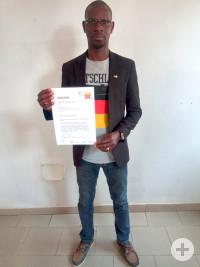 Deutschlehrer Daouda Coulibaly