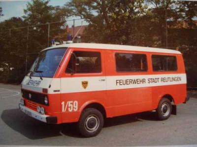 Ein alter Gerätewagen Sonderaufgaben der Feuerwehr Reutlingen