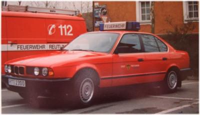 Kommandowagen 2004 ausgesondert nach einem Totalschaden bei Einsatzfahrt