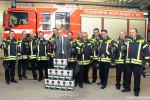 Ein großer Schritt für mehr Sicherheit in der Stadt Reutlingen Bürgermeister Kreher übergibt hochmoderne Wärmebildkameras an alle Abteilungen der Freiwilligen Feuerwehr
