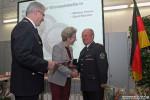 Die Ehrenplakette in Silber der Stadt Reutlingen für besondere Verdienste um die Feuerwehr Reutlingen