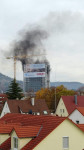 Brand im Hochaus Stuttgarter Tor