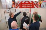 Gemeinsamer Übungsdienst der Gefahrstoffeinheit mit der Freiw. Feuerwehr Pfullingen