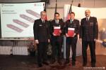 Beförderungen, Verabschiedungen und eine Ehrenmitgliedschaft bei der Feuerwehr