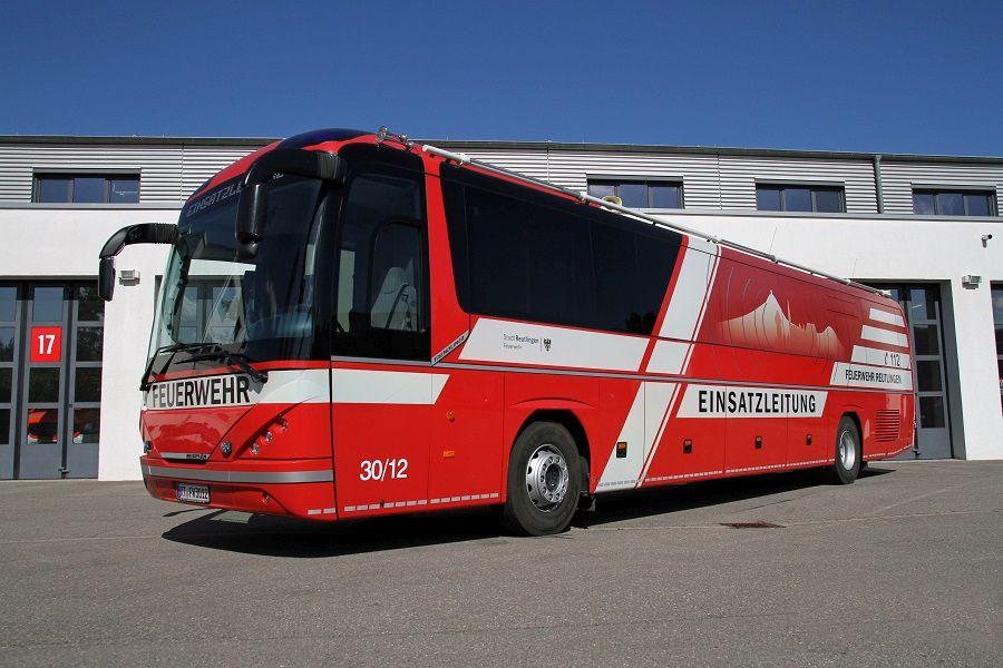 Einsatzleitwagen 2 Neoplan Bus