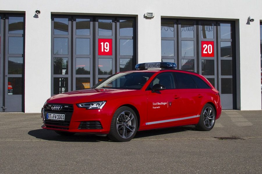 Kommandowagen 1 Audi Avant