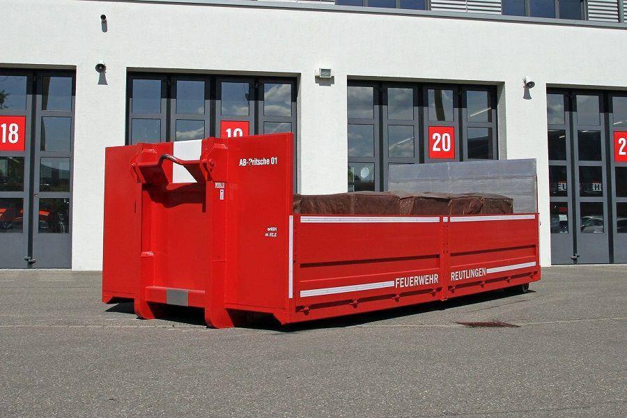 Abrollbehälter Pritsche 01