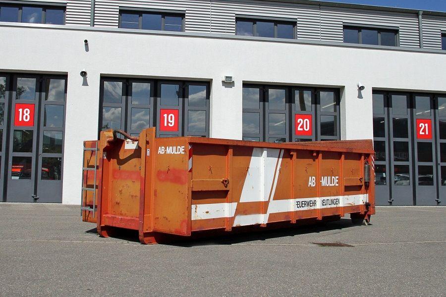Abrollbehälter Mulde 15 m³