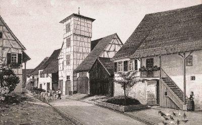 Das alte Feuerwehrhaus in der Mußmehlstr.