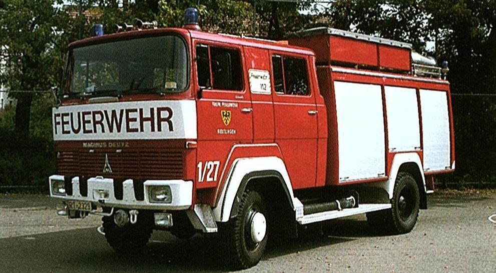Trockentanklöschfahrzeug TroTLF 16 Magirus, Baujahr 1972