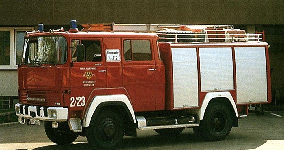Tanklöschfahrzeug TLF 16 Magirus, Baujahr 1975