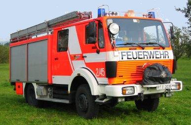 Löschgruppenfahrzeug LF 16-Ts, Baujahr 1986