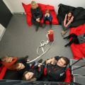 Ein Blick von oben auf die Gründungsmitglieder der Kindergruppe Sondelfingen