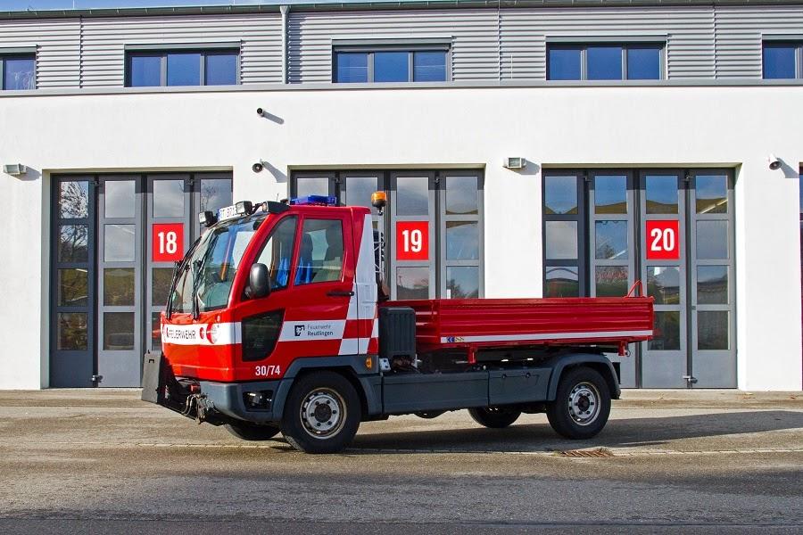 Multicar für kleiner Transportaufgaben mit Winterausstattung