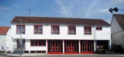Das Feuerwehrhaus in Betzingen