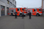 Übergabe von zwei neuen Hilfeleistungslöschgruppenfahrzeugen