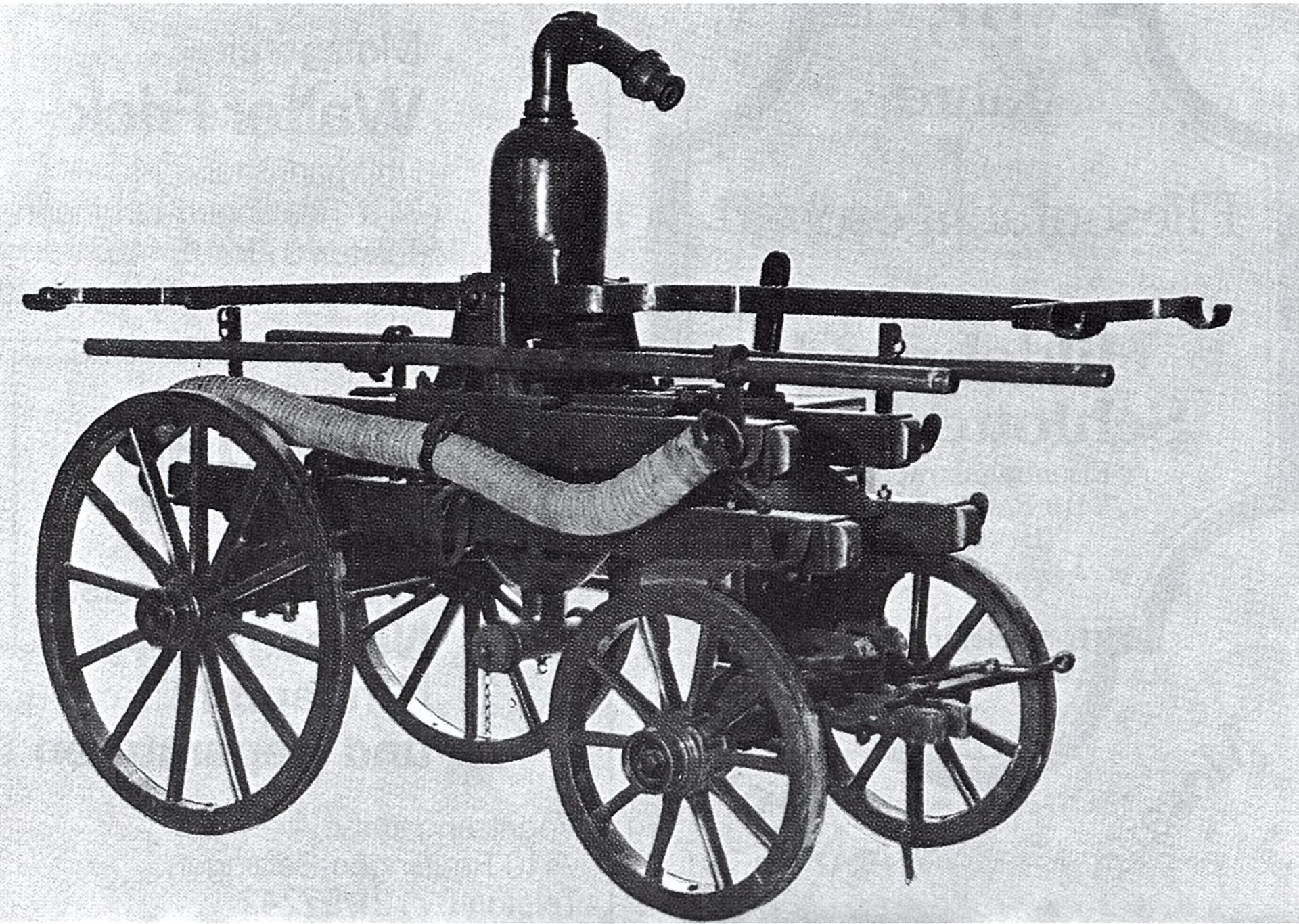 Druckverstärkerpumpe aus dem Jahr 1880
