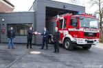 Übergabe Feuerwehrhaus Altenburg