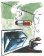 Müllschlucker  Wer warme oder brennende Gegenstände in den Schacht von  Müllschluckern wirft, wird möglicherweise zum Brandstifter.  Die Gefahr, dass sich hier wegen des Kamineffektes ein Brand  entwickelt, ist sehr hoch. Deshalb niemals heiße oder brenne