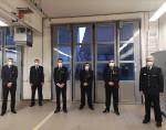 Abteilungsversammlung der Feuerwehr Degerschlacht mit den Geehrten