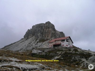 Bild der Dreizinnenhütte