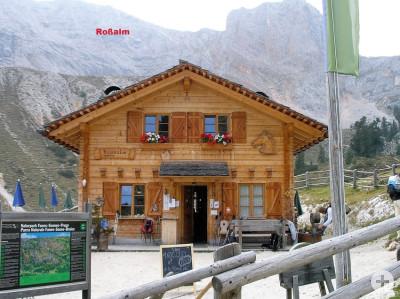 Bild der Rossalmhütte