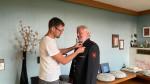 Für 50 Jahre Mitgliedschaft bei der Feuerwehr Reutlingen, konnten wir Hans Messerschmid ehren