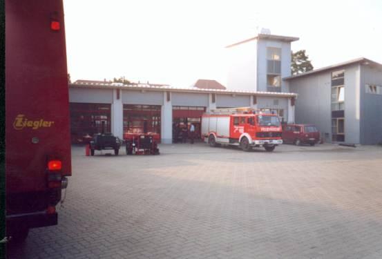 hier sehen Sie den Fuhrpark der Feuerwehr Pirna