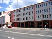 hier sehen Sie die Feuerwache der Feuerwehr Szolnok