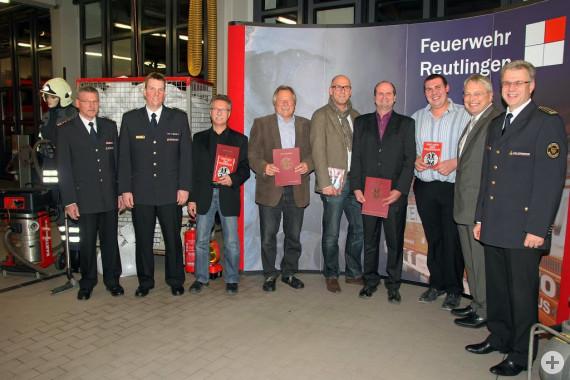 Verleihung Partnerschild der Feuerwehr 2013