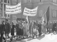 Kundgebung am 1. Mai 1952