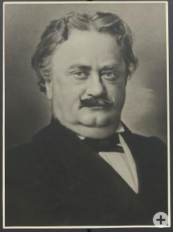 Der Reutlinger Stadtschultheißen und Landtagsabgeordnete Wilhelm Grathwohl wenige Jahre vor seinem Tod