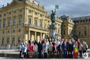 Jumelage-Treffen der Lionsclubs Reutlingen, Roanne und Pirna in Würzburg