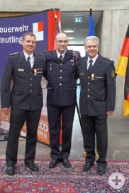von links nach rechts: Martin Reicherter, Frederic Gay und Harald Herrmann