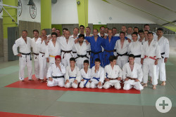 Die Judoka des PSV Reutlingen in Roanne