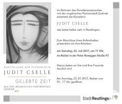 """Judit Cselle """"Gelebte Zeit"""""""