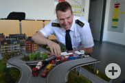 Stellvertretender Feuerwehrkommandant Adrian Röhrle
