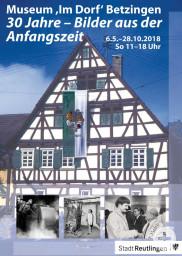 Plakat Museum Im Dorf 2018