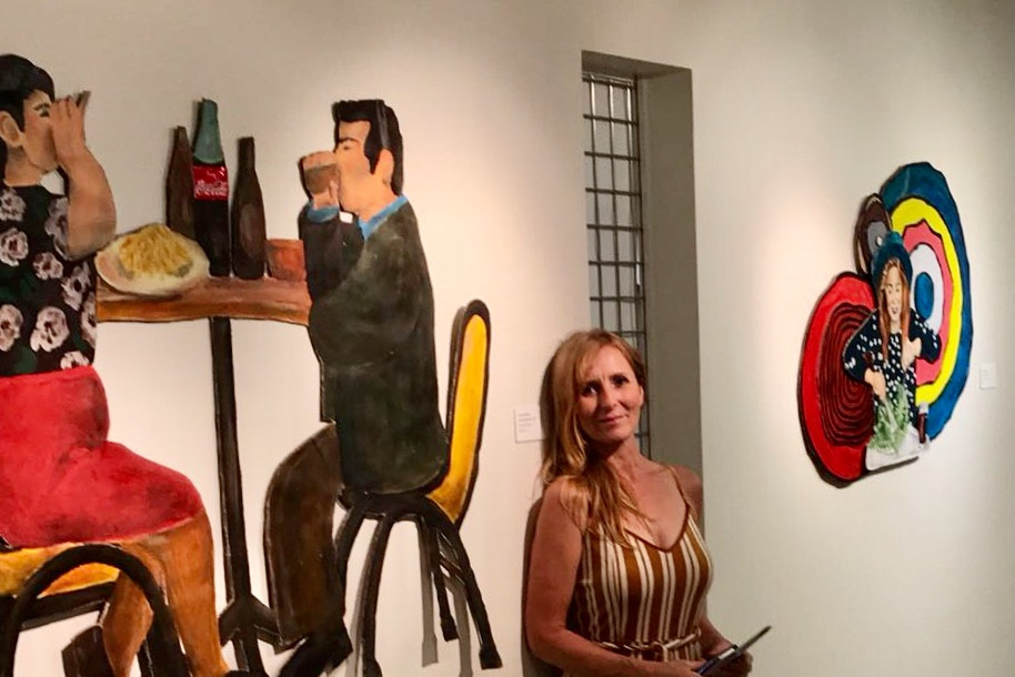 Ausstellung der Reutlinger Künstlerin Edeltraud Willjung in Reading/USA