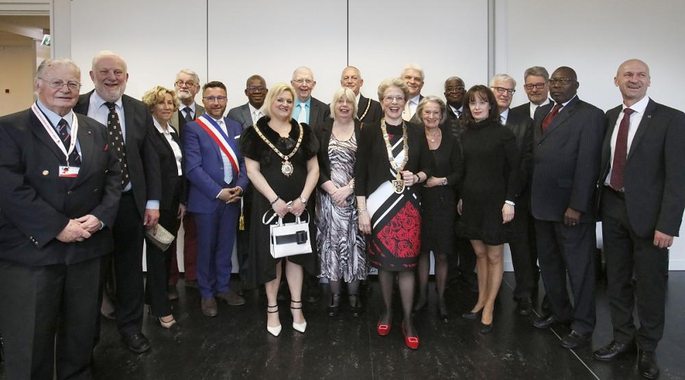 Verabschiedung von Oberbürgermeisterin Barbara Bosch am 1. April 2019 in der Reutlinger Stadthalle