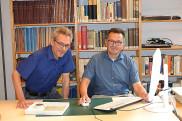 Dr. Roland Deigendesch und Gerald Kronberger
