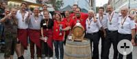 Siegerehrung beim Weindorf